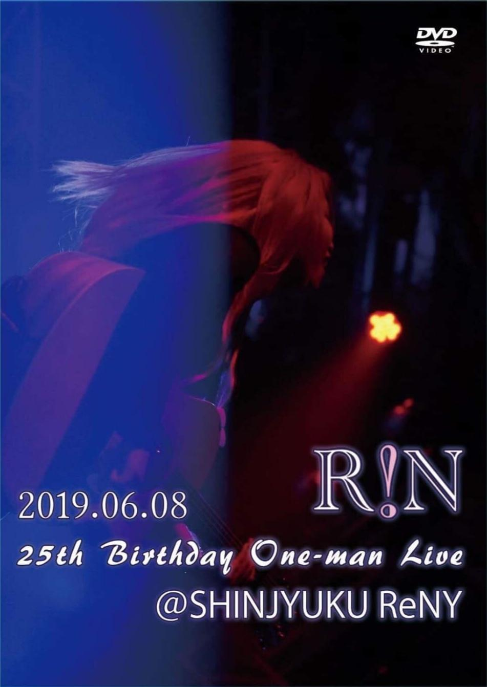 4th DVD「25th Bithday Oneman Live」@SHINJYUKU ReNY