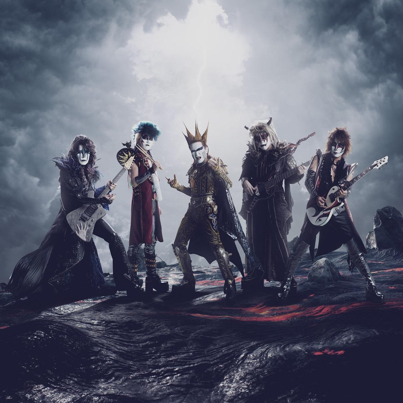 聖飢魔II、変異型ツアー「ヴィデオ&変異生黒ミサツアー『悪チン集団接種』」開催決定!